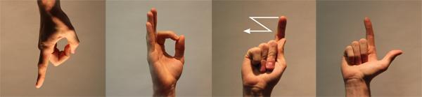 PFZL mit Fingeralphabet