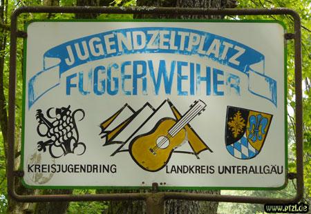 """Zeltplatz """"Fuggerweiher"""""""